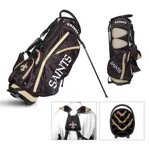 31828: Fairway Golf Stand Bag New Orleans Saints
